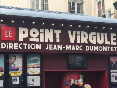 Le Point Virgule - Salle de concerts et spectacles - Paris