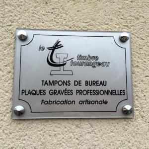 Le Timbre Tourangeau - Gravure laser - Tours