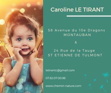 Le Tirant Caroline - Soins hors d'un cadre réglementé - Montauban