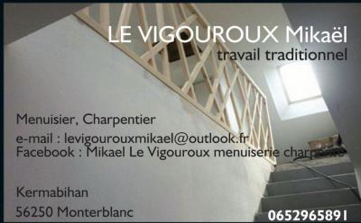 Le Vigouroux Mikaël - Entreprise de menuiserie - Monterblanc