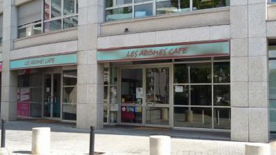 Les Arômes Café - Création de sites internet et hébergement - Montreuil