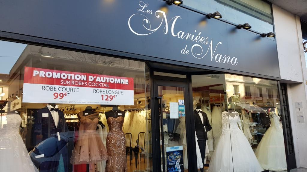 Les Mariées de Nana Tours - Robes de marié