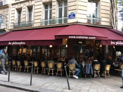 Les Philosophes - Café bar - Paris