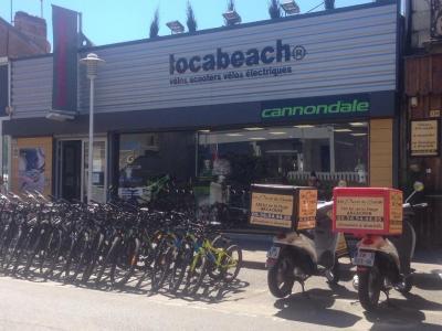 Locabeach Plage - Location de vélos - Arcachon