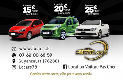 Locars - Location d'automobiles de tourisme et d'utilitaires - Guyancourt