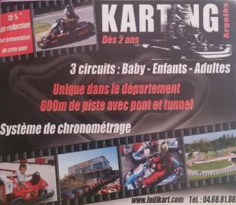 Ludi Kart - Karting Argelès - Club, circuit et terrain de sports mécaniques - Argelès-sur-Mer