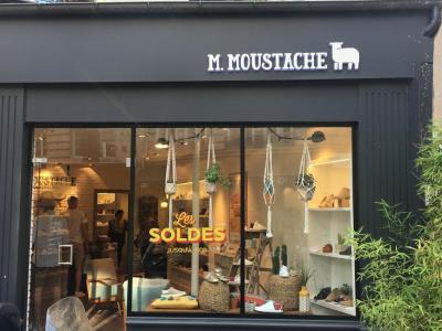 M. Moustache - Chaussures - Paris