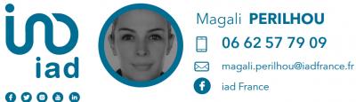 Magali PERILHOU - IAD France - Mandataire immobilier - Paris