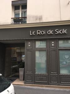 Le Roi de Sicile - Hôtel - Paris