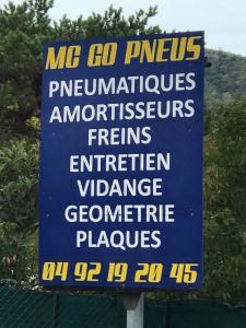 Go Pneus SARL - Garage automobile - La Roquette-sur-Siagne