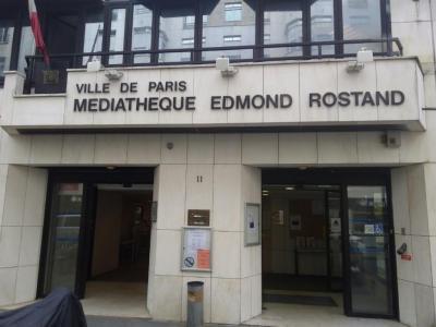 Médiathèque Edmond Rostand - Bibliothèque et médiathèque - Paris