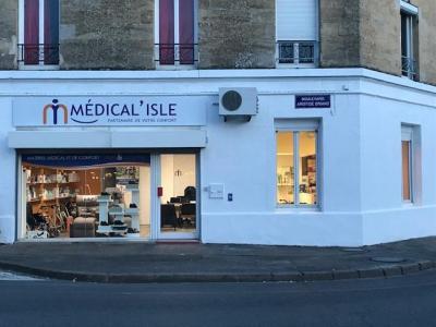 Medical'isle Libourne - Vente et location de matériel médico-chirurgical - Libourne