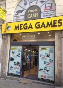 Mega Games - Jeux vidéo - Nantes
