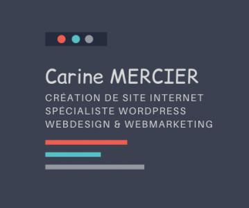 Mercier Carine - Création de sites internet et hébergement - Montpellier