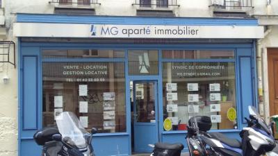 MG Aparte - Administrateur de biens - Paris