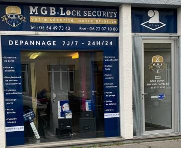 Mgb - Portes et portails - Bordeaux