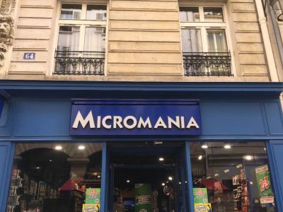 Micromania - Jeux vidéo - Paris