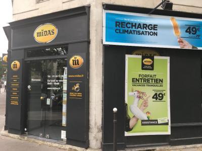Midas - Garage automobile - Paris