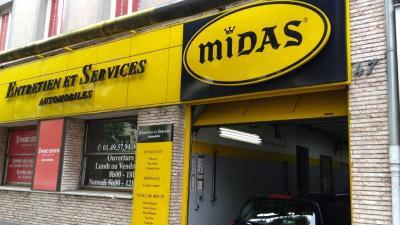 Midas VINCENNES SERVICE RAPIDE VSR - Centre autos et entretien rapide - Vincennes