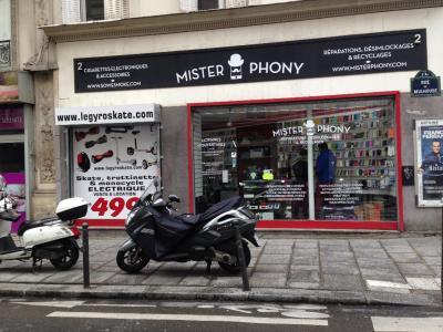 Mister Phony - Vente de téléphonie - Paris