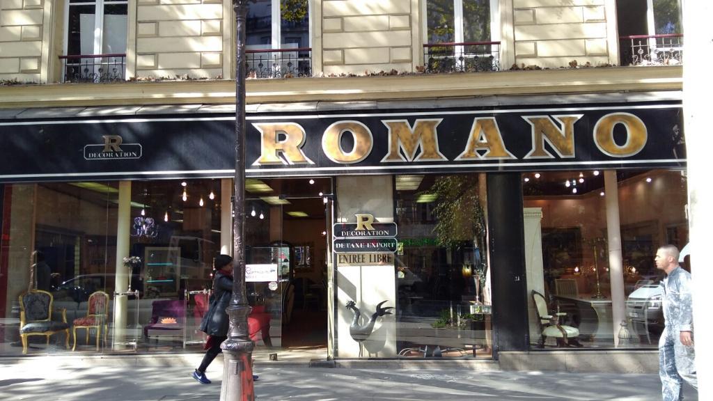 Romano Decoration Paris Magasin De Meubles Adresse