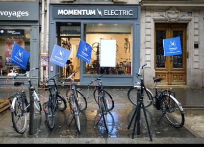 Momentum Electric - Vélos électriques - Paris