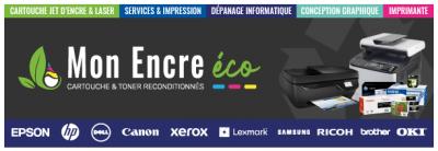 Cartouches d'encres recyclées - Papeterie - Nice