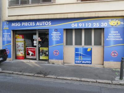 Msg Pièces Autos SARL - Pièces et accessoires automobiles - Marseille