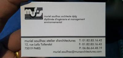 Muriel Souilhac - Architecte d'intérieur - Paris