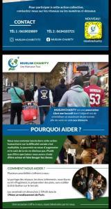 Muslim Charity: Une Main Pour Tous - Association humanitaire, d'entraide, sociale - Paris