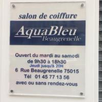 Aquableu - PARIS