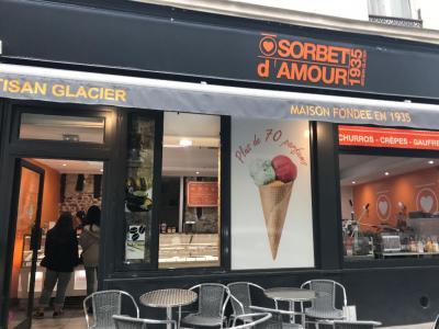 O Sorbet d'Amour - Glacier - Paris