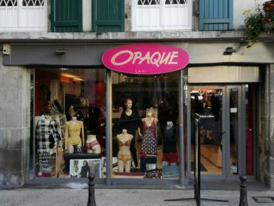 Opaque - Lingerie - Aurillac