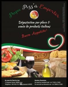 Papa Pizz - Restaurant - Lyon