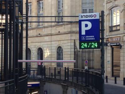 Parking Indigo - Parking public - Bordeaux