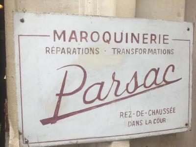 Parsac - Réparation, nettoyage et teinture pour cuir - Paris