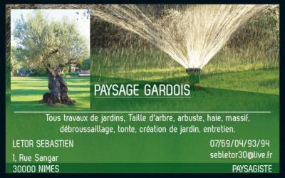 Paysage Gardois - Paysagiste - Nîmes