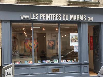 Peintres du Marais - Artiste peintre - Paris