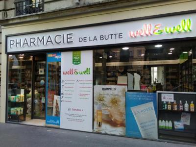 Pharmacie de la Butte well&well - Pharmacie - Paris