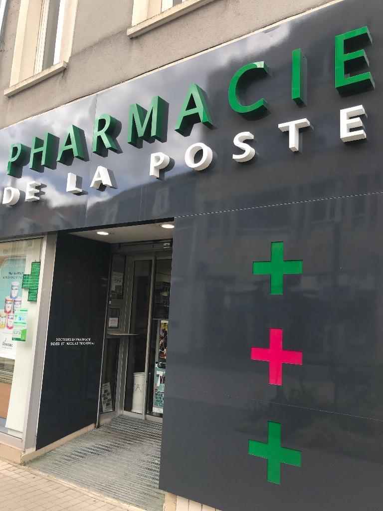 La Poste Le Poiré Sur Vie pharmacie de la poste la roche sur yon - pharmacie (adresse)