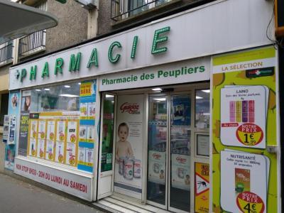Pharmacie Des Peupliers - Pharmacie - Paris