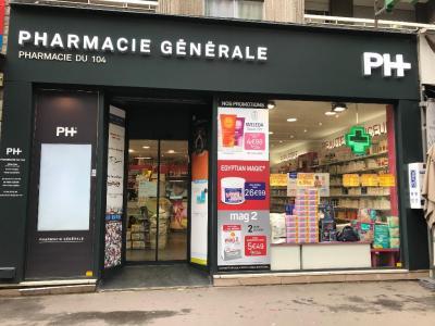 Pharmacie du 104 - Pharmacie - Paris