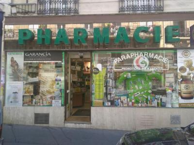 Pharmacie du Métro Lamarck,Carette Thierry - Pharmacie - Paris