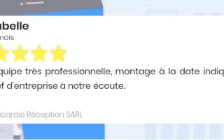 Picardie Réception SARL