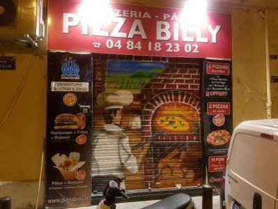 Pizza billy - Restaurant - Marseille