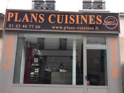 Plans Cuisines - Vente et installation de cuisines - Paris