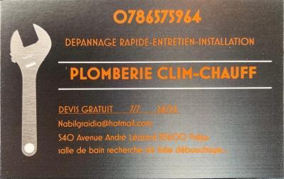 Plomberie Clim Chauff - Dépannage de chauffage - Fréjus