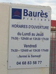 Prolians Baurès Argelès-sur-mer - Matériel pour le BTP - Argelès-sur-Mer