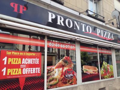Pronto Pizza - Restaurant - Creil