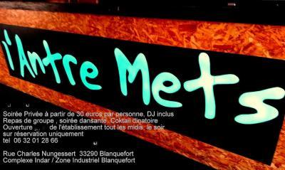 Restaurant L'Antre Mets - Restaurant - Blanquefort
